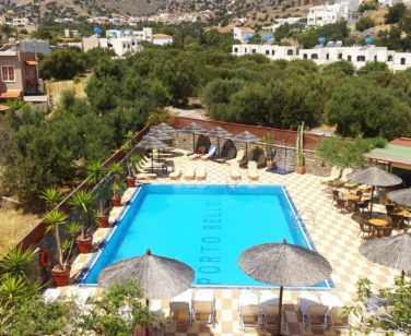 Elounda Apartments & Studios - Corali Studios & Portobello Apartments - Balcony Pool View 2