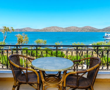 Elounda Apartments & Studios - Corali Studios & Portobello Apartments - Balcony Sea View 1
