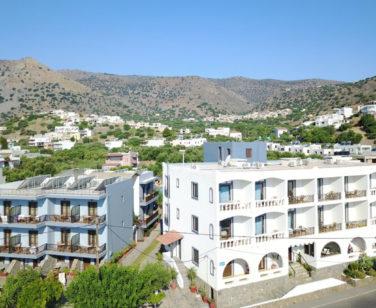Elounda Apartments & Studios - Corali Studios & Portobello Apartments - Facade 3